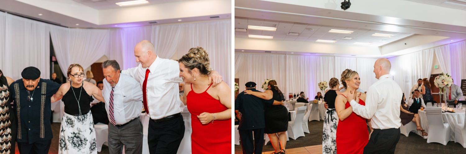 Dancing during wedding reception - https://brittneyhannonphotography.com