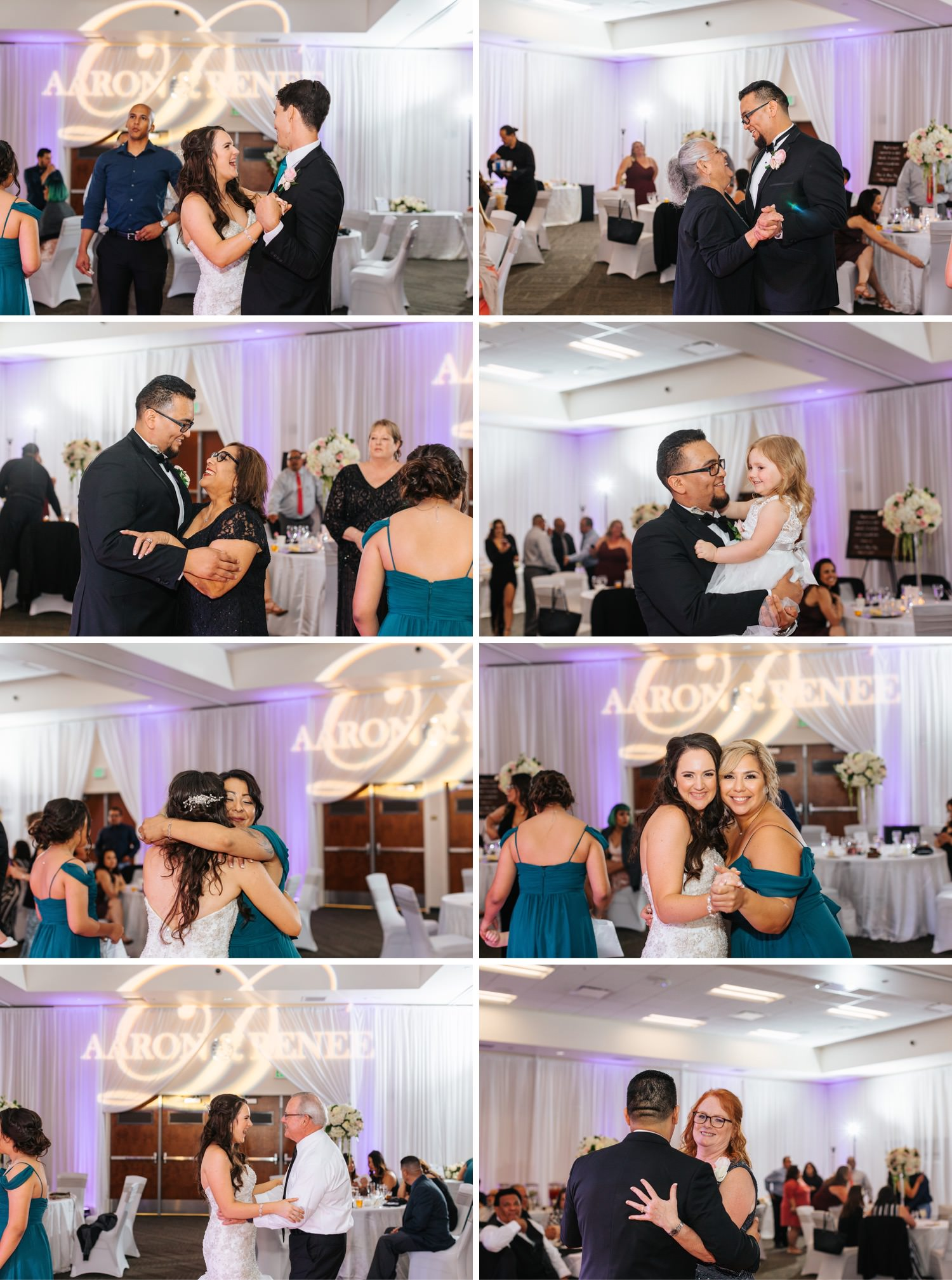 Money Dance with Bride and Groom - https://brittneyhannonphotography.com