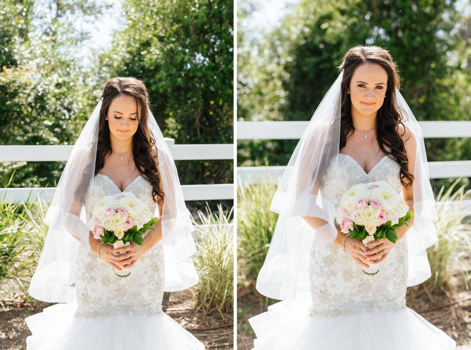 Natural Light Bridal Portraits - https://brittneyhannonphotography.com