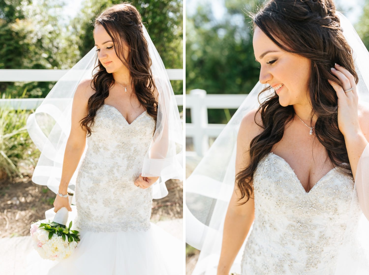 Southern California Wedding Photographer - Natural Light Bridal Photos - https://brittneyhannonphotography.com