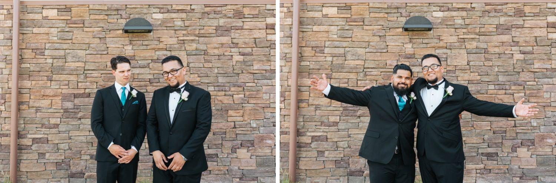 Groom and Groomsmen - Chino Hills Wedding - https://brittneyhannonphotography.com