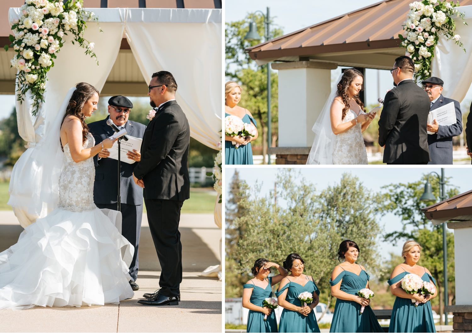 Chino Hills Community Center Wedding - Southern California Wedding Photographer - https://brittneyhannonphotography.com
