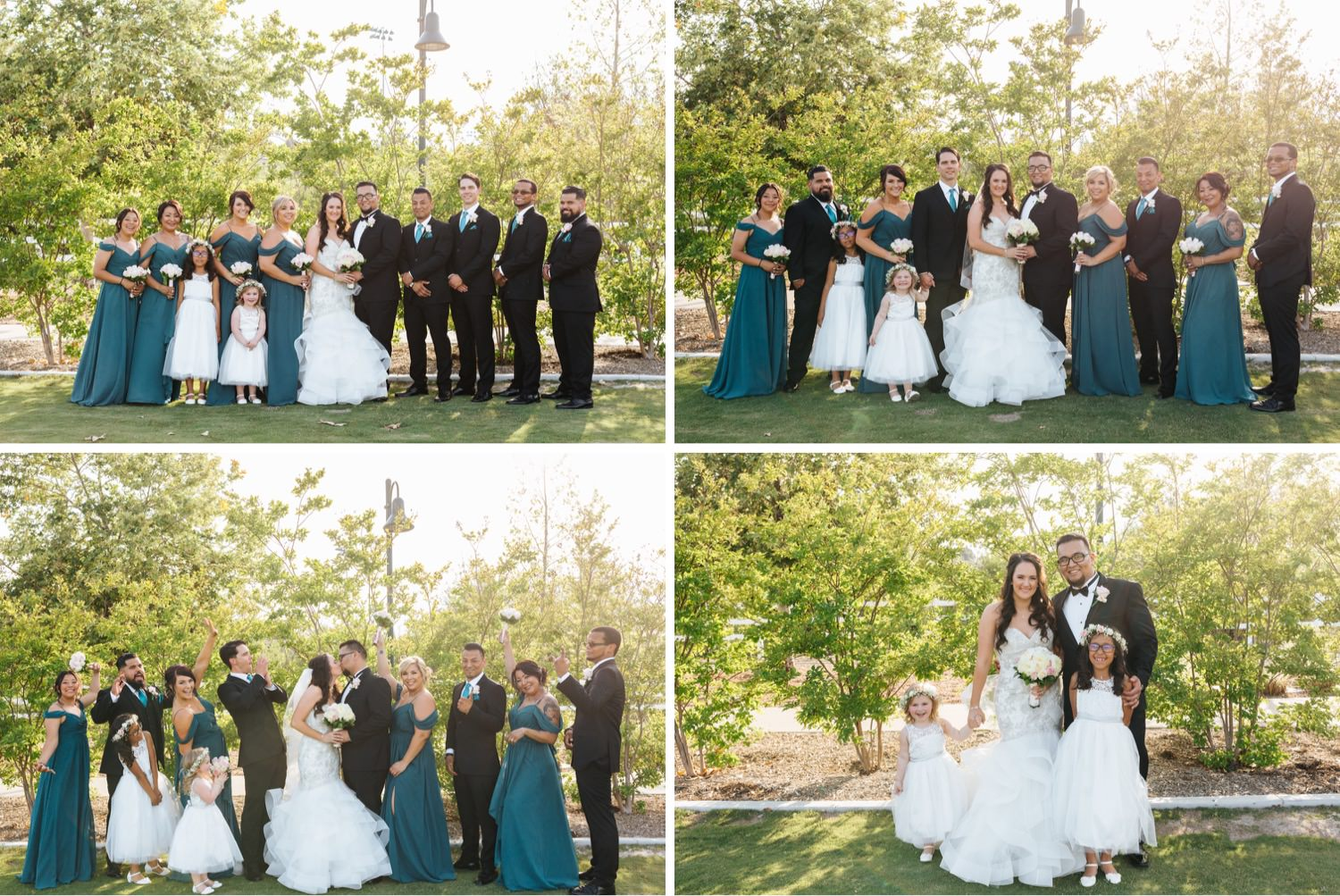 Chino Hills Wedding Photographer - Bridal Party Photos - https://brittneyhannonphotography.com