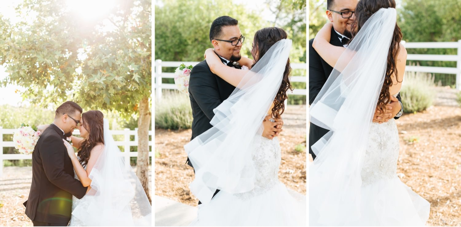 Romantic and Natural Light Bride and Groom Photos - https://brittneyhannonphotography.com