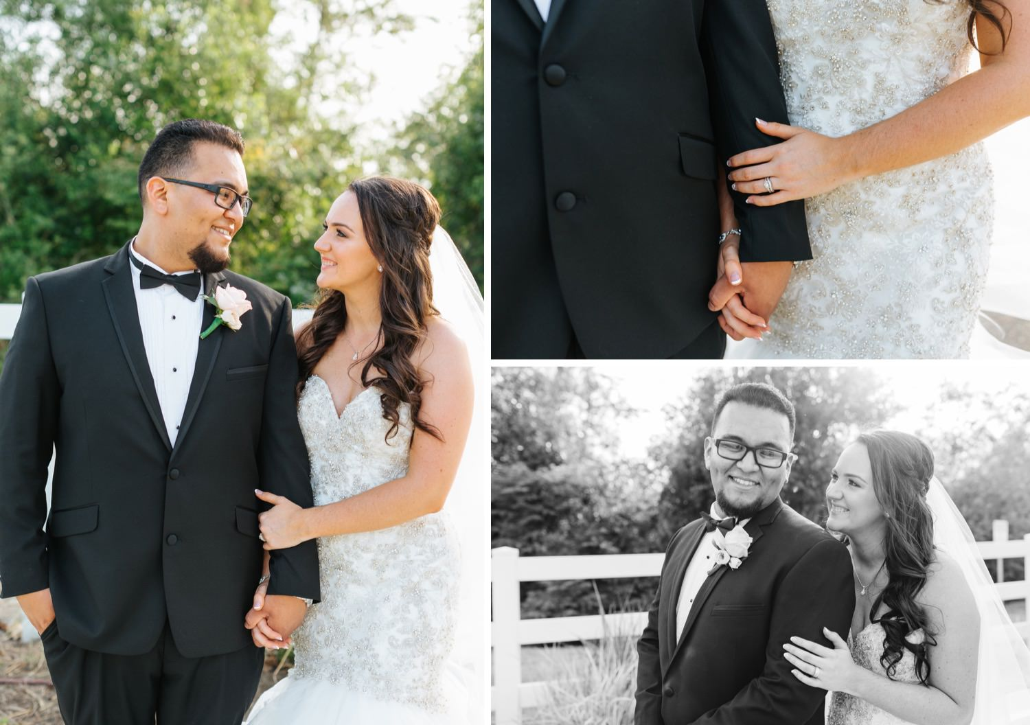 Classic and Romantic Bride and Groom Portraits - https://brittneyhannonphotography.com