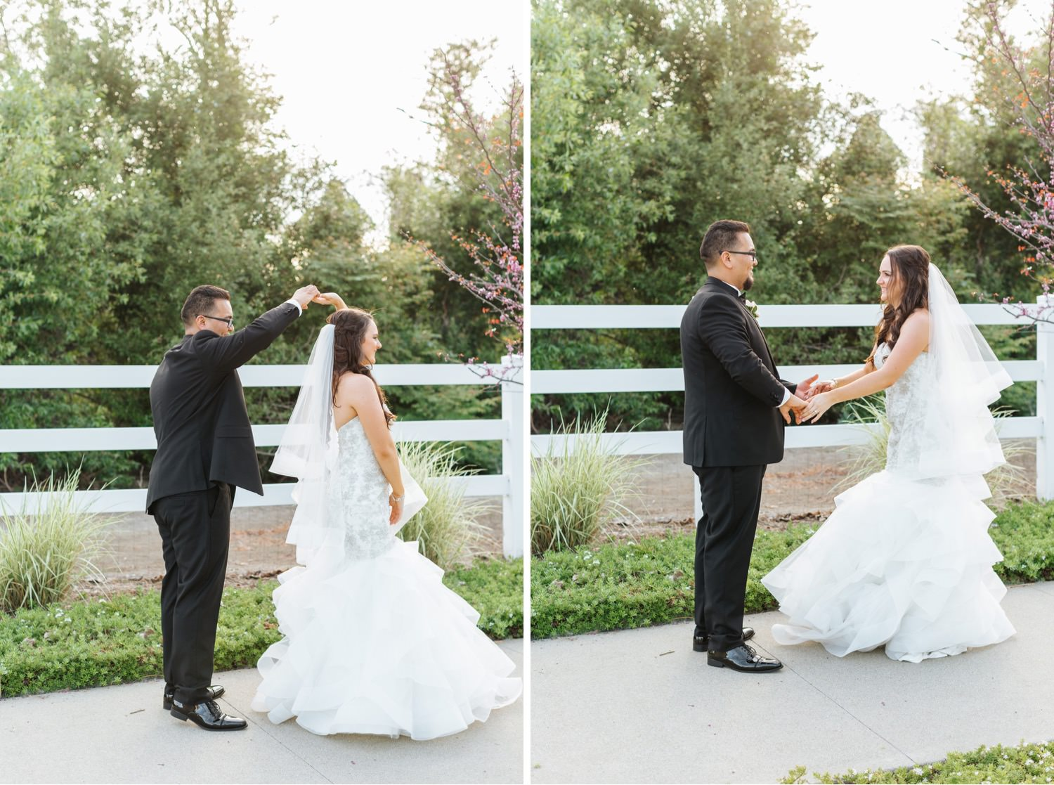 Romantic Bride and Groom Photos - https://brittneyhannonphotography.com