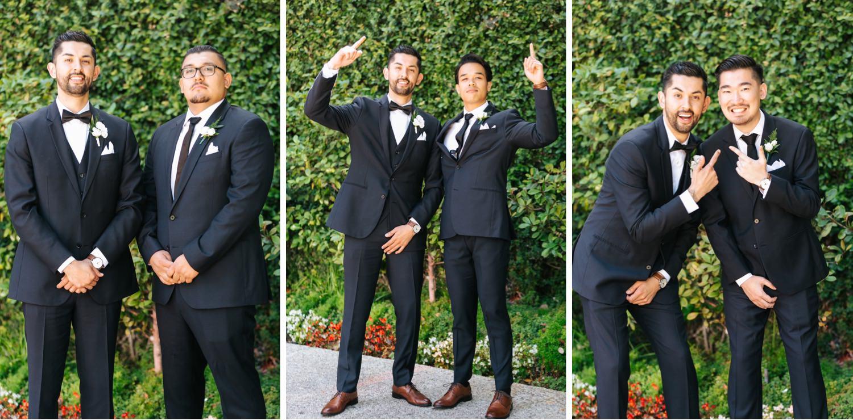 Groom and Groomsmen Photos - Los Angeles - Wedding Photographer - https://brittneyhannonphotography.com