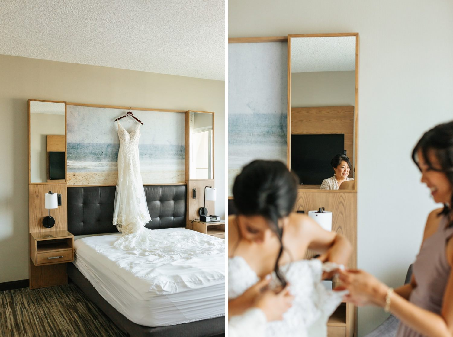 Los Angeles Wedding - Wedding Dress - Lili Bridals - https://brittneyhannonphotography.com