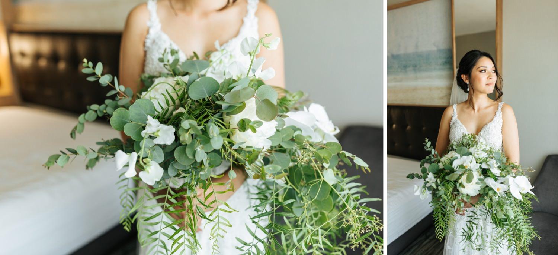 Bridal Bouquet - Karens Garden - LA Wedding - https://brittneyhannonphotography.com