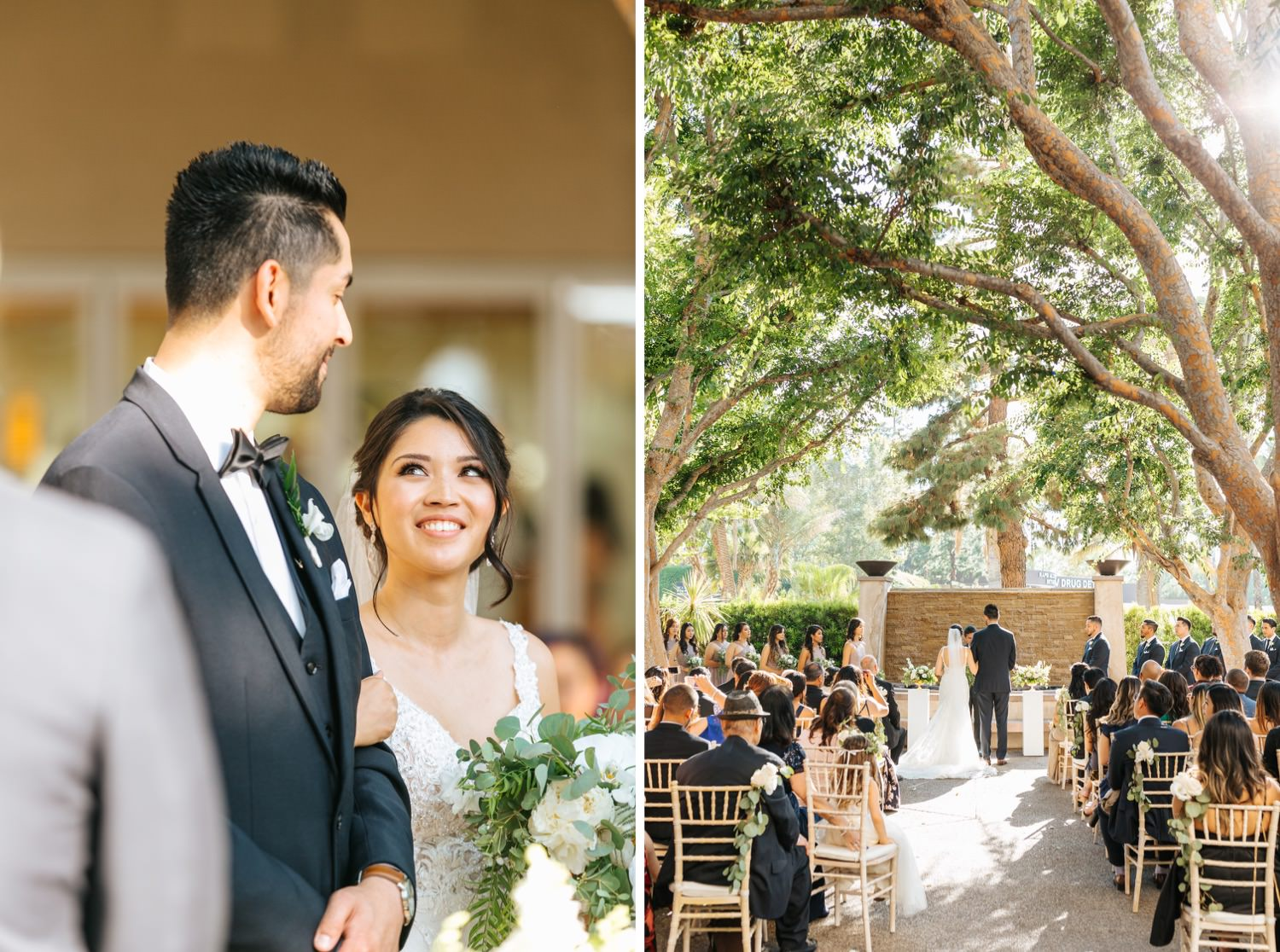Wedding Ceremony Inspiration - Wedding Ceremony Decor - https://brittneyhannonphotography.com