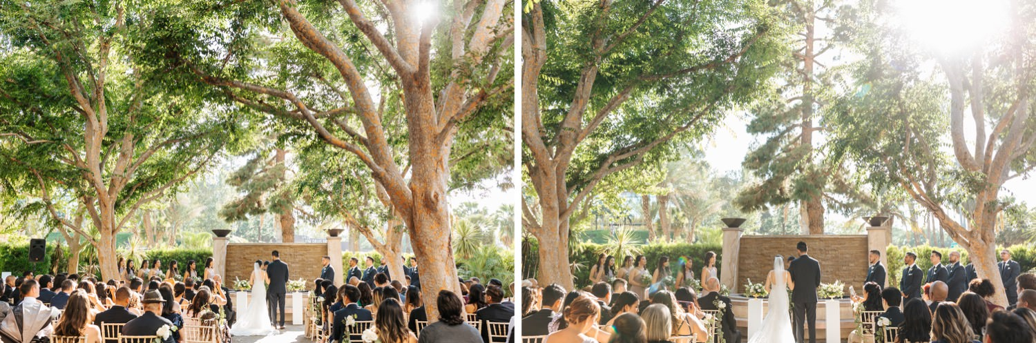 Los Angeles Wedding Ceremony - Wedding Ceremony Inspiration - LA Wedding Photographer - https://brittneyhannonphotography.com