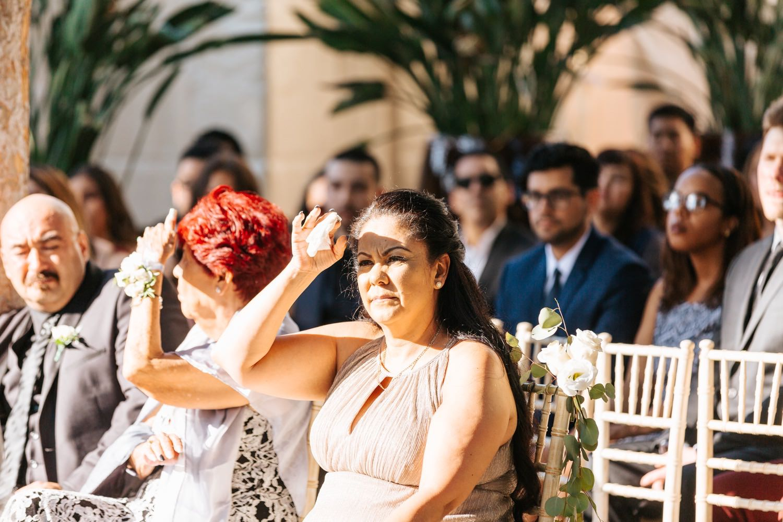 Los Angeles Wedding Ceremony - Summer Wedding - https://brittneyhannonphotography.com