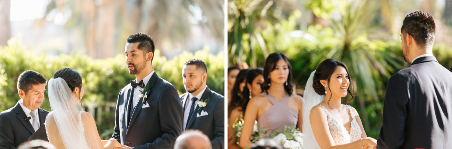 Los Angeles Wedding Ceremony - Summer Wedding - https://brittneyhannonphotography.com