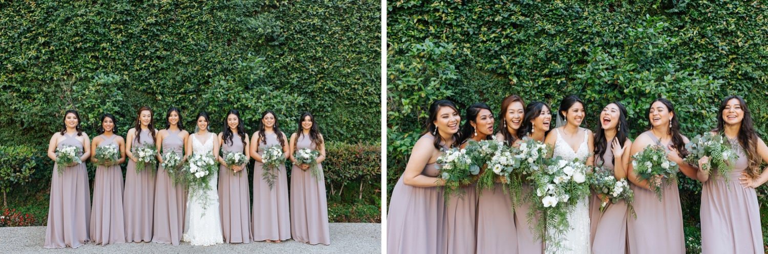 Bride and Bridesmaids Photos - https://brittneyhannonphotography.com