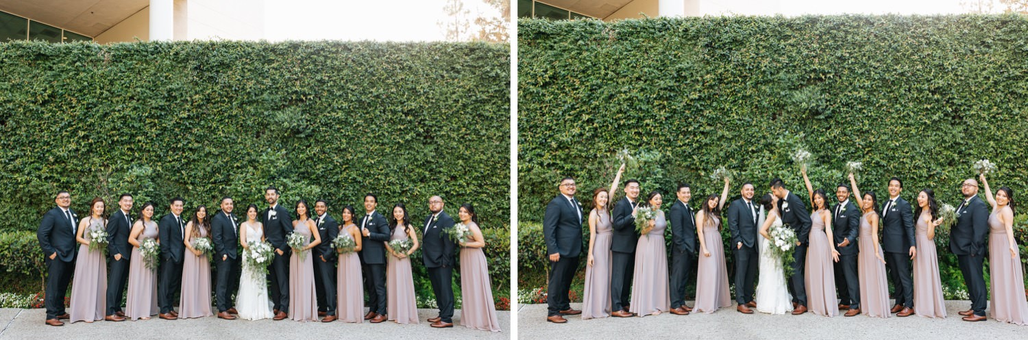 Wedding Party Photos - Los Angeles Wedding - https://brittneyhannonphotography.com