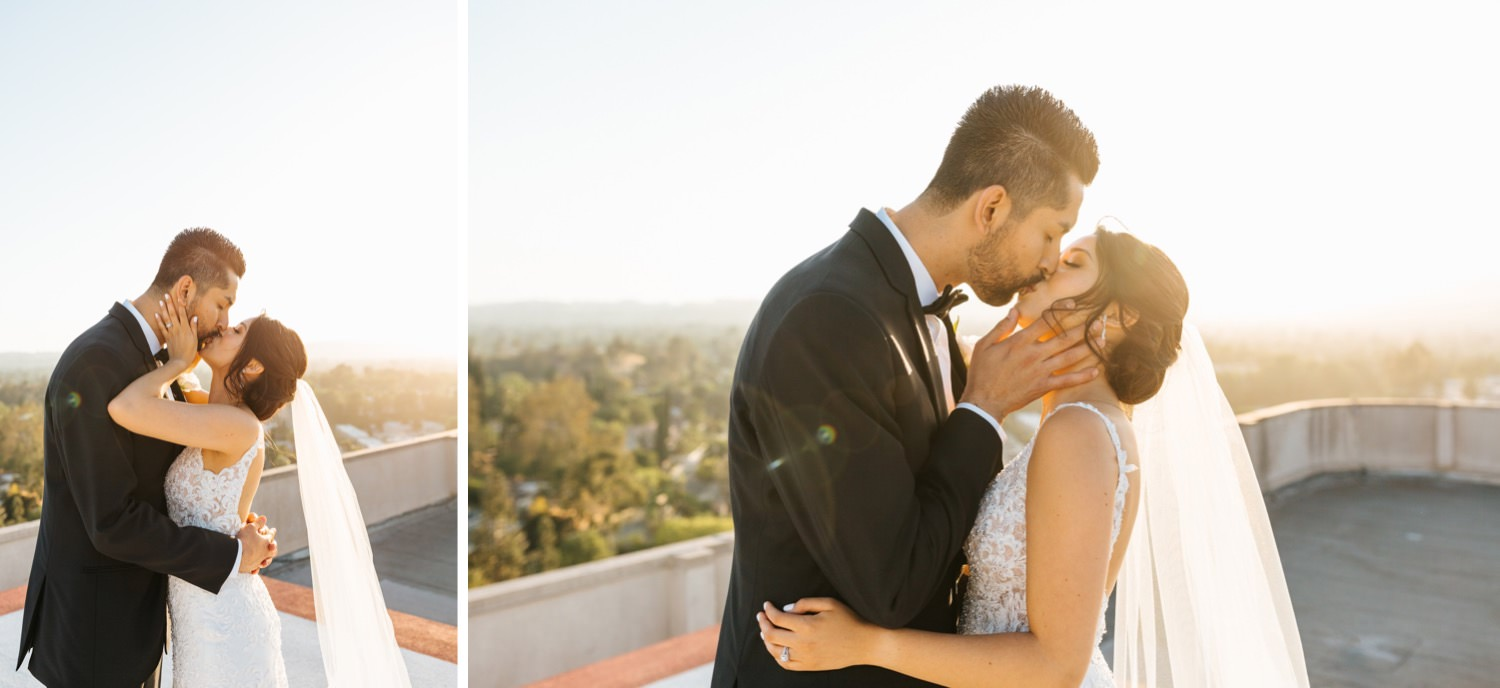 Kissing Photos - Romantic Bride and Groom pictures - https://brittneyhannonphotography.com