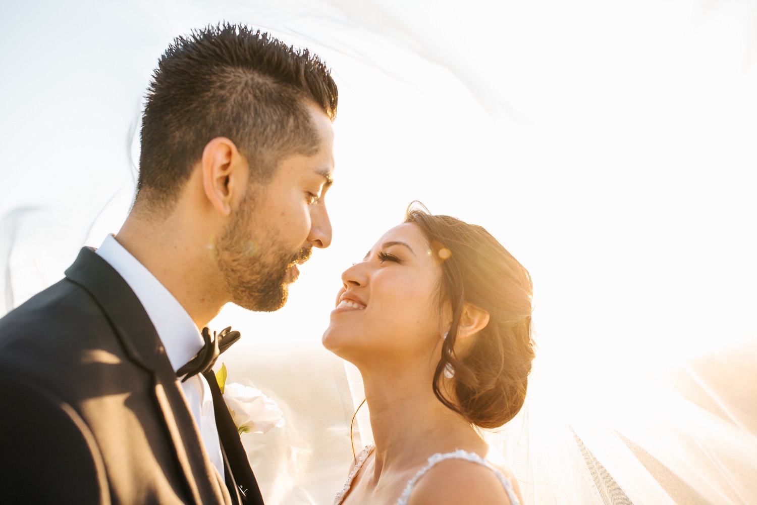 Love on the rooftop - LA Wedding Photography - https://brittneyhannonphotography.com