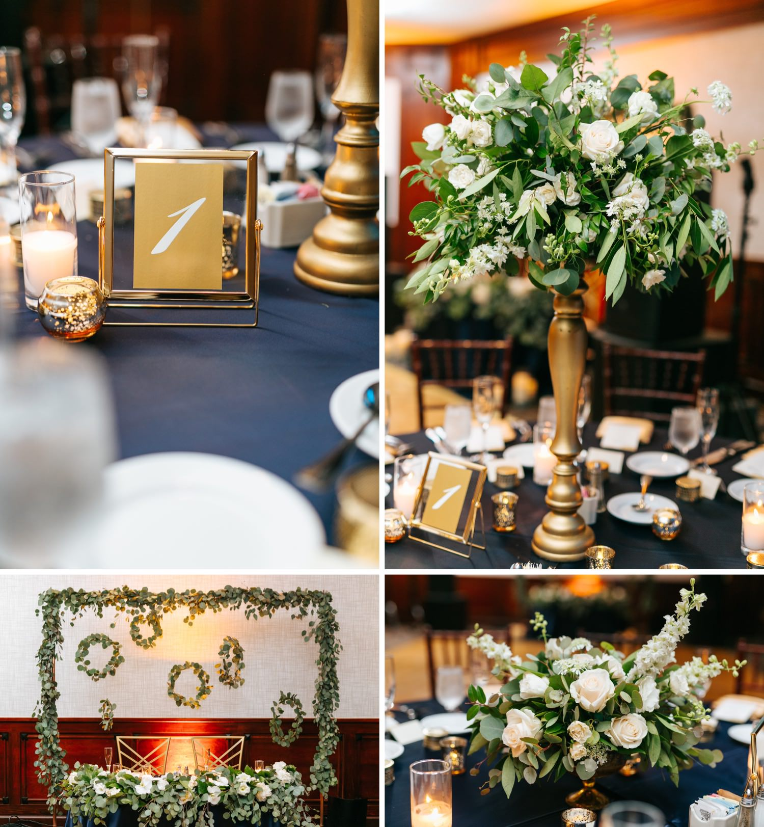 Los Angeles Wedding - Reception Details and Decor - https://brittneyhannonphotography.com