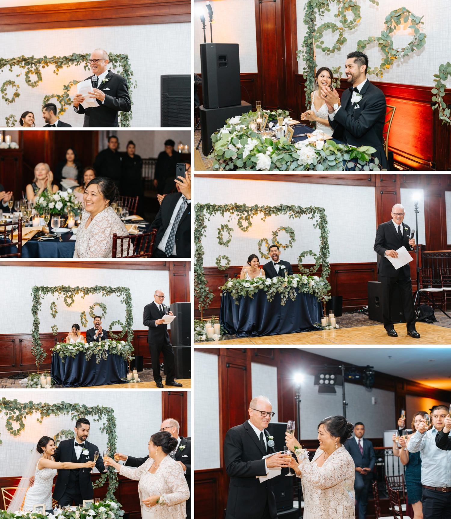 Wedding Toasts & Speeches - Reception Details - https://brittneyhannonphotography.com