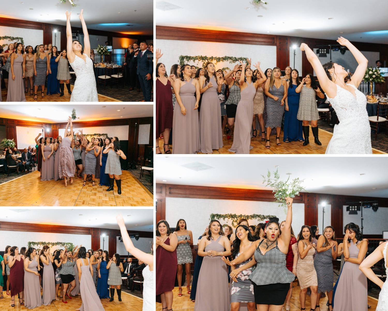 Bouquet Toss - https://brittneyhannonphotography.com