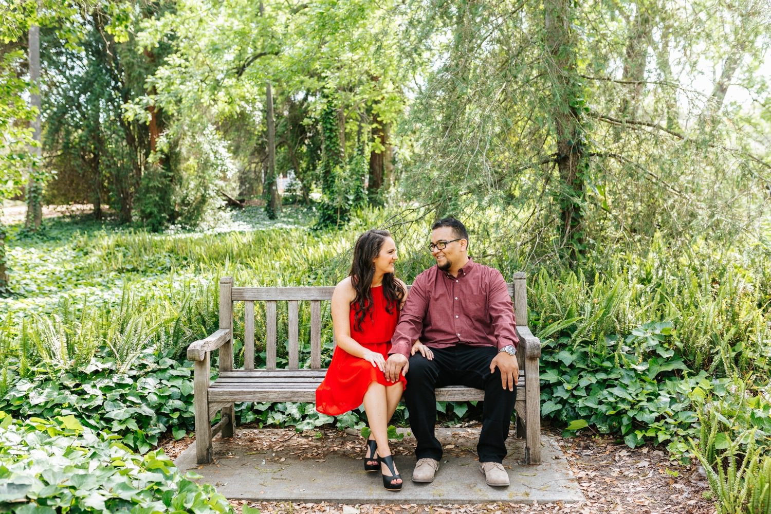 Engagement Session at LA Arboretum