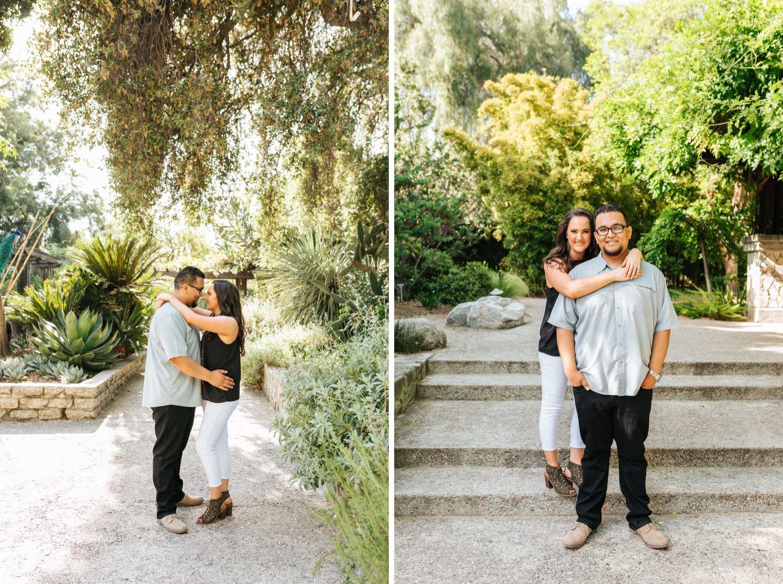 Engagement Session in LA Arboretum