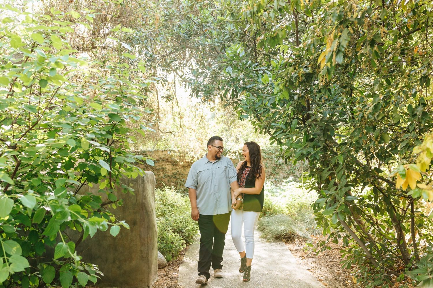 Botanic Garden Engagement Photos
