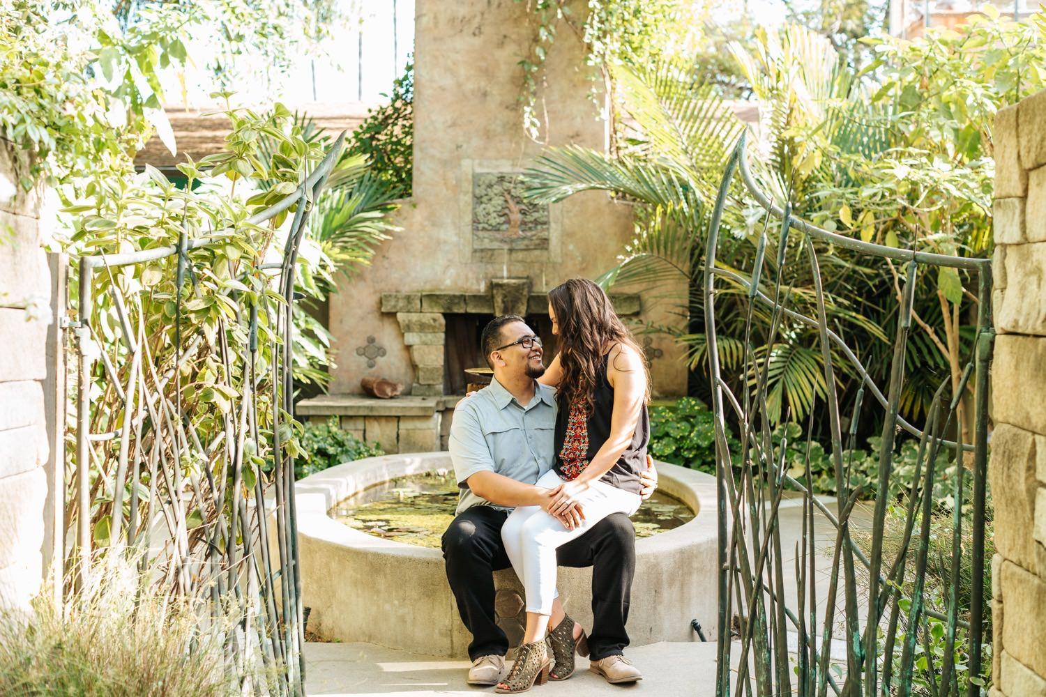 Orange County and LA Engagement Photos
