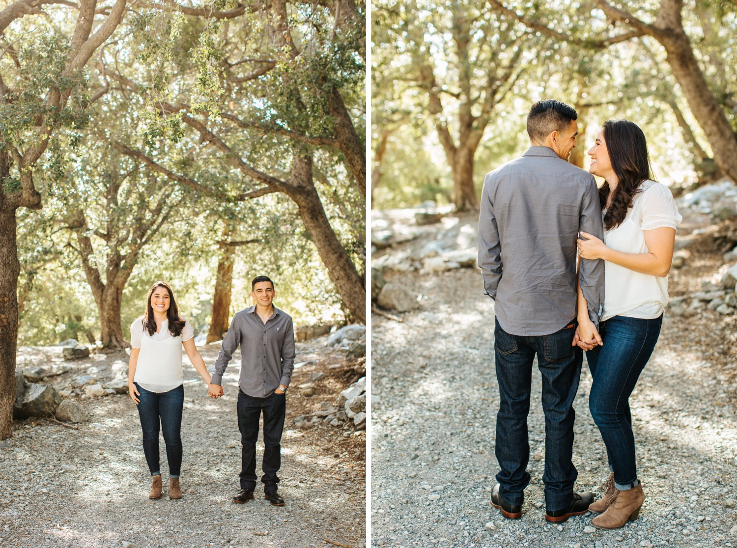 Romantic Mountain Engagement Session in Mt. Baldy - https://brittneyhannonphotography.com