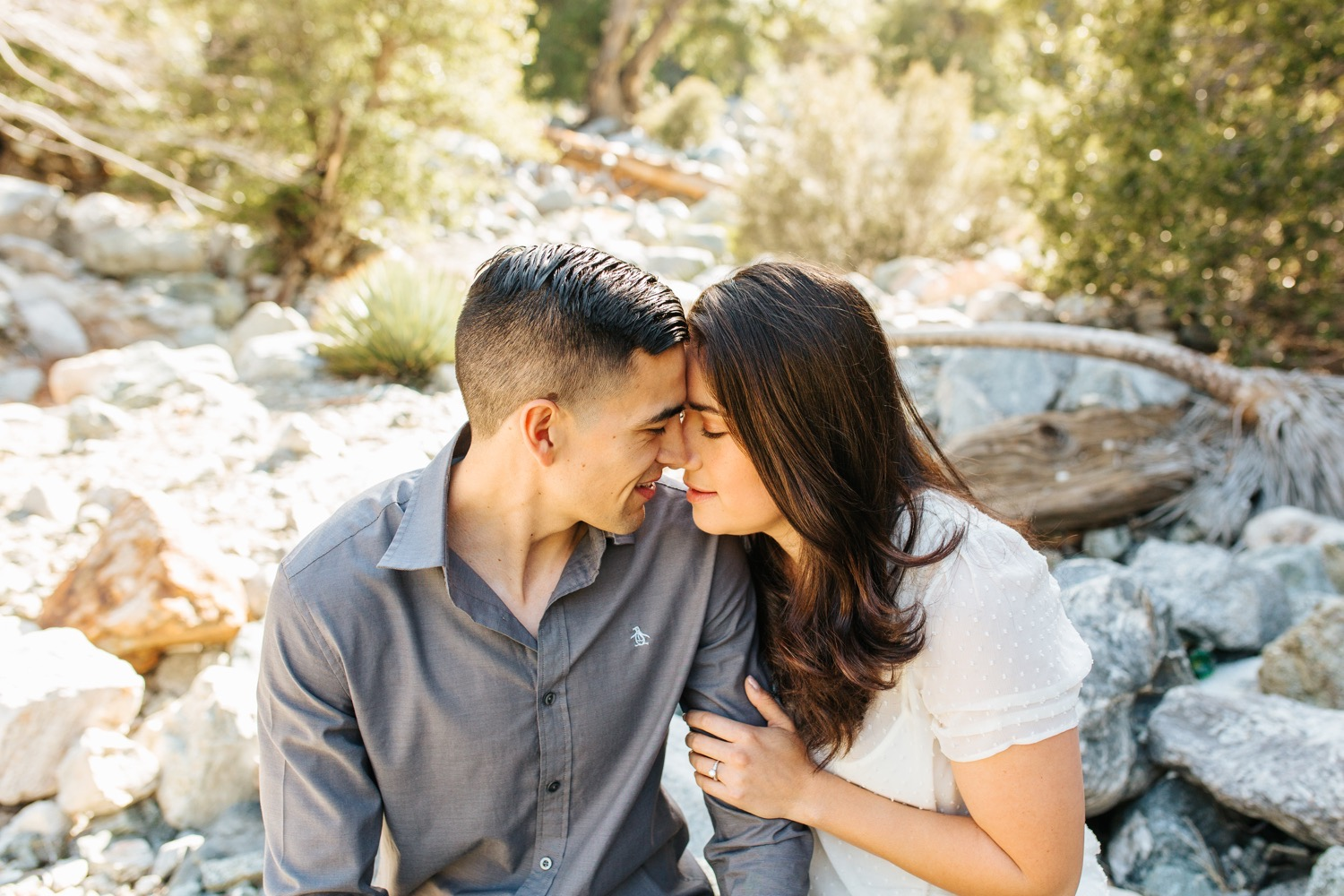 Southern California Engagement Session in the mountains - https://brittneyhannonphotography.com