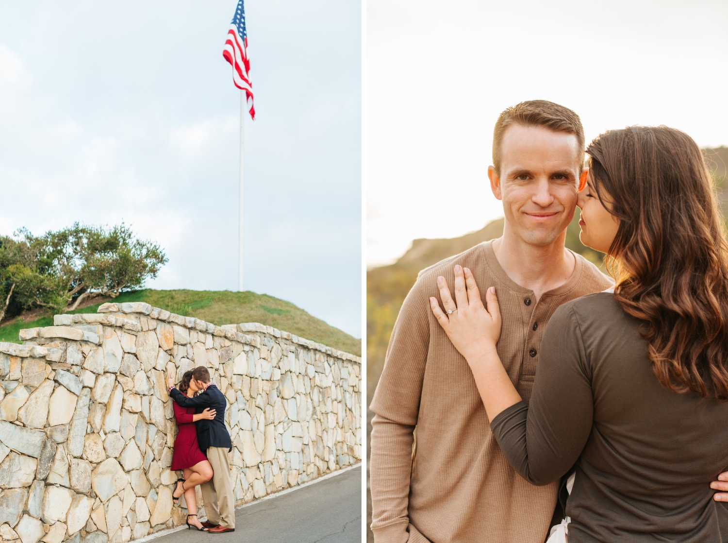 american-flag-engagement-photo