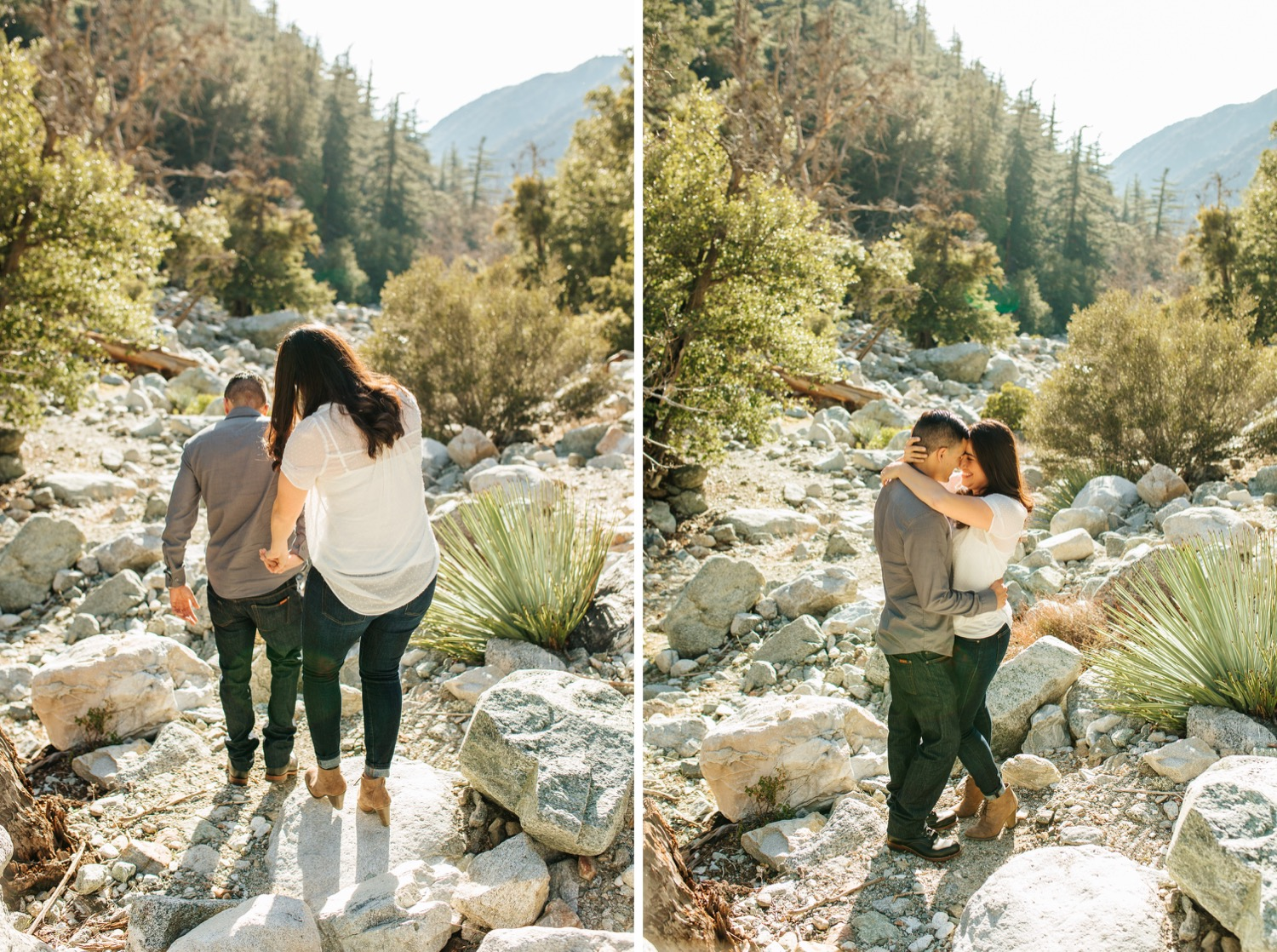 So Cal Mountain Engagement - https://brittneyhannonphotography.com