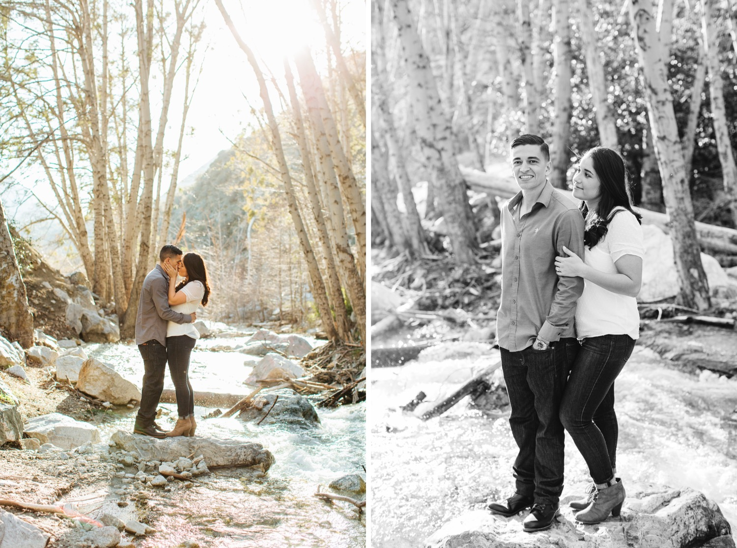 Outdoorsy Adventure Engagement Session - https://brittneyhannonphotography.com