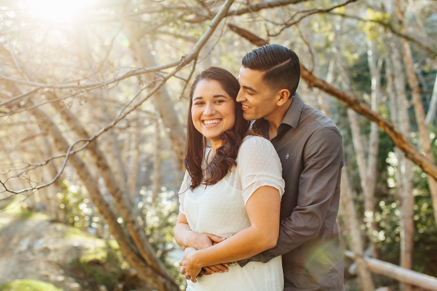 Natural Light Engagement Session in So Cal - https://brittneyhannonphotography.com