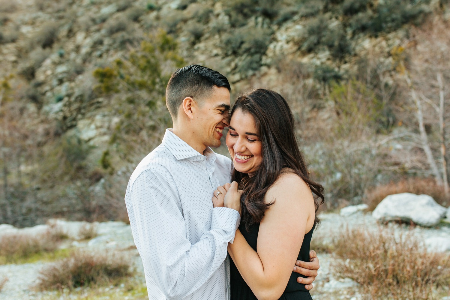Sweet and Romantic Engagement Photos - https://brittneyhannonphotography.com