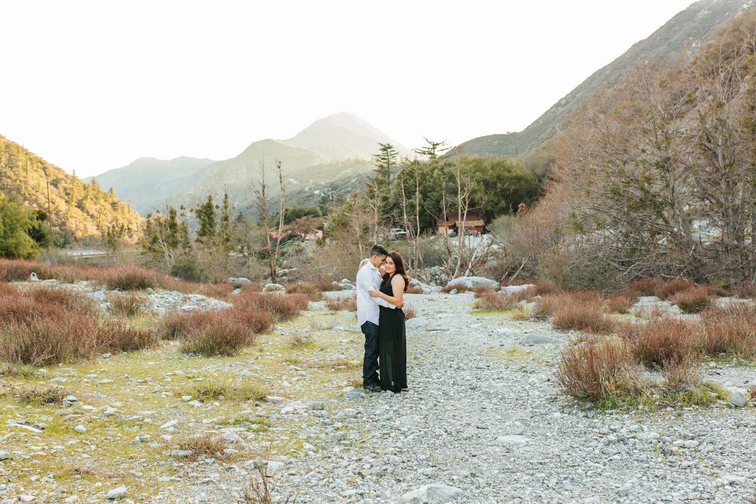 Nature Engagement Session - Southern California Wedding Photographer - https://brittneyhannonphotography.com
