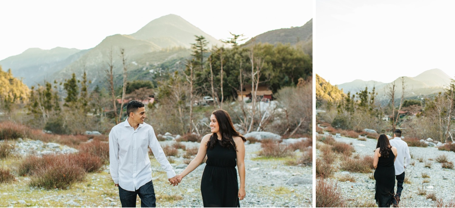 Nature Engagement Photography - Southern California Engagement Photographer - https://brittneyhannonphotography.com