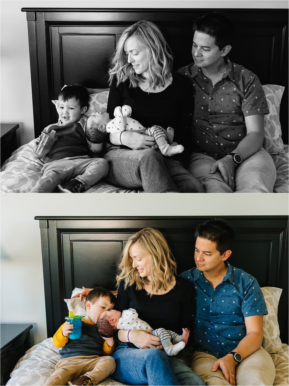 Lifestyle Newborn Photographer in Hermosa Beach - https://brittneyhannonphotography.com