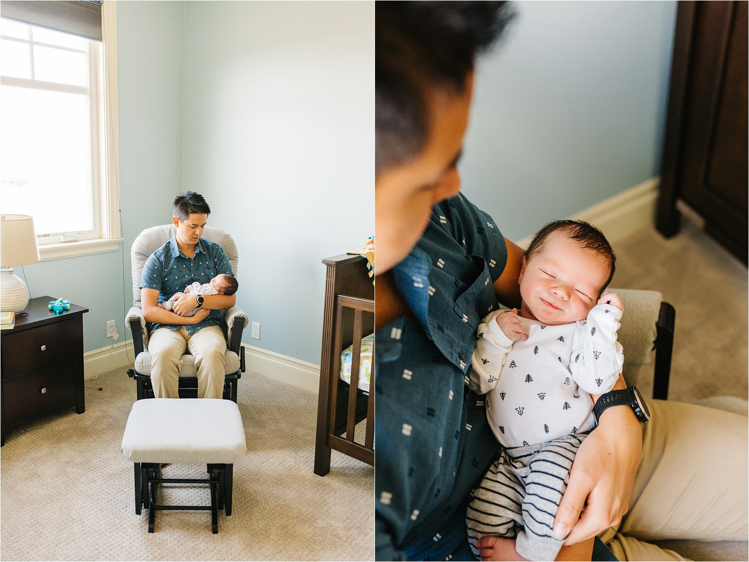Lifestyle Family and Newborn Photographer in Southern California